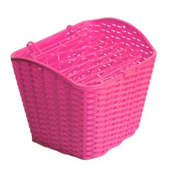 Kosár első pink műanyag