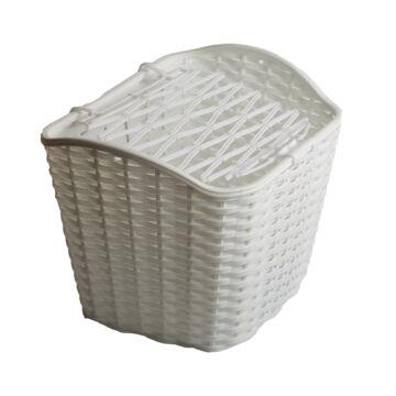 Kosár első fehér műanyag