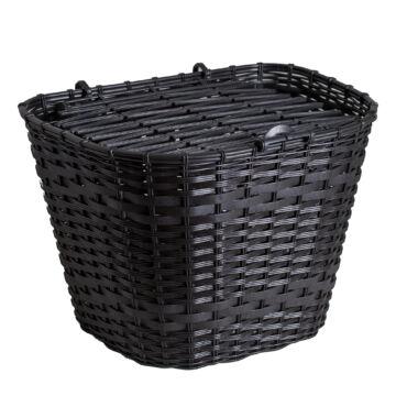 Kosár műanyag fekete