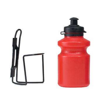Kulacs 0,35 L műanyag piros