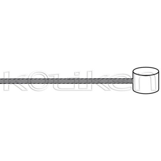 Fékbowden hátsó (200 cm) 7X6