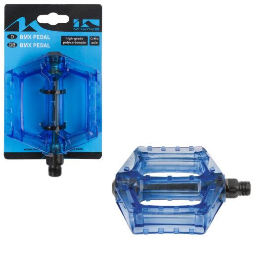 Pedál BMX 9/16 kék