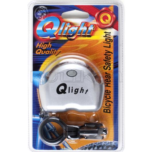 Hátsó villogó Qlight 6 ledes